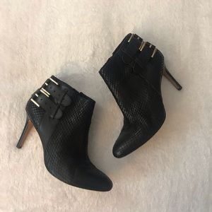 Ann Taylor leather booties